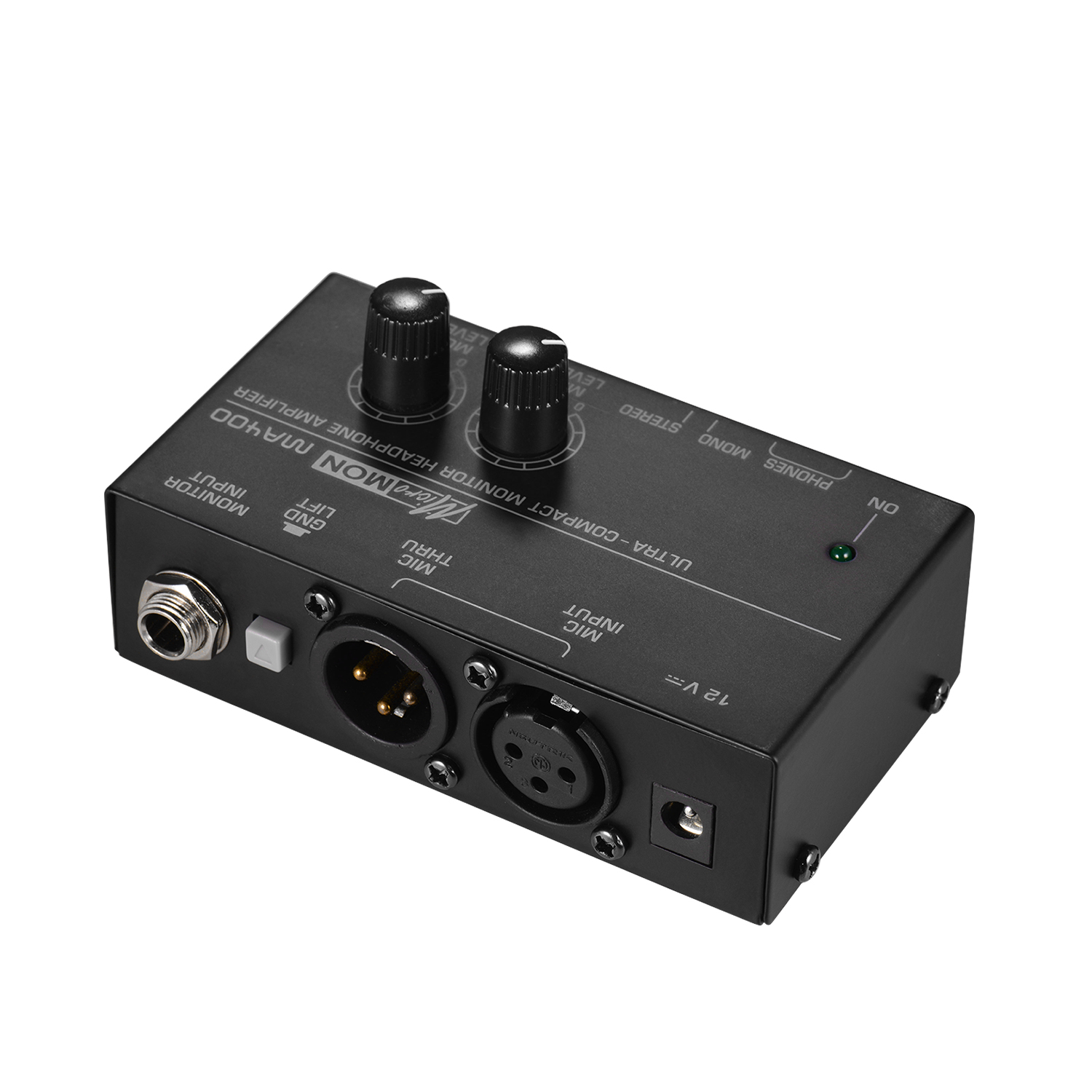 Personal In-ear Monitor Headphones Earphones Amplifier Amp With XLR Inputs 6.35mm Output Audio Interface