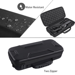 Image 3 - 2020  Newest PU Hard Box Travel Carrying Storage Case For Zhiyun Smooth 4 Handheld Gimbal Stabilizer Extra Room For Accessories