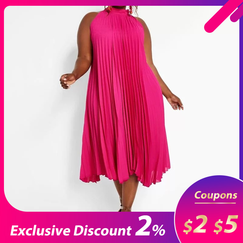 Boho Women Maxi Dress 2019 Sexy Off Shoulder Sundress Party Elegant Casual Loose Fashion Solid Halter Pleated Long Dresses