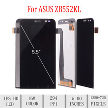 Original For ASUS Zenfone GO ZB552KL X007D LCD Display Touch Screen Digitizer Assembly For Asus ZB552KL Display with Frame 5.0