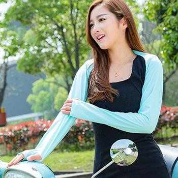 Damskie szale rękawy fajne szale rękawy naramienne są idealne dla kobiet do noszenia na zewnątrz ochrony przeciwsłonecznej szal rękaw na jazda na zewnątrz tanie i dobre opinie CN (pochodzenie) Pasuje prawda na wymiar weź swój normalny rozmiar Dziewczyny