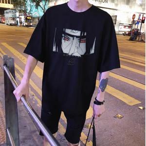 2020 Япония самурайский воин Наруто Учиха Саске Итачи Футболка Harajuku уличная одежда Diablo стиль футболка для мужчин подарок