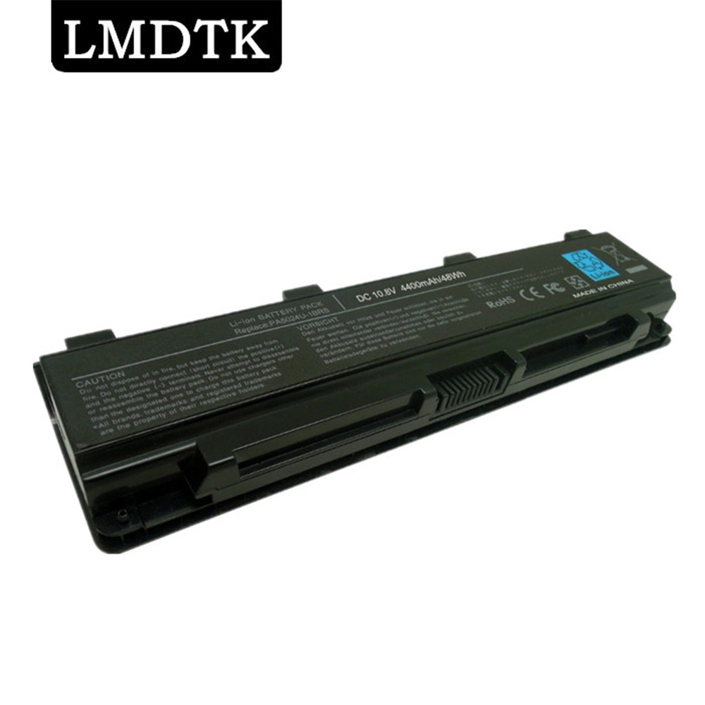 LMDTK New Laptop Battery FOR TOSHIBA Satellite C800 C805 C840 C850 C855 C870  L800 L805 L830 L835 L840 L850 L855 PA5024U-1BRS