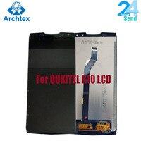 Digitalizador de touchscreen para oukitel k10  display de reposição original de 100% polegadas para tela de lcd + touch screen  6.0 lcd lcd