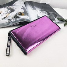 New women wallet glossy laser handbag ladies wallet