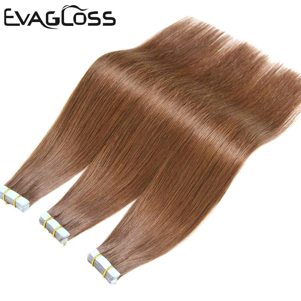 Tape In Human Hair Extension Skin Inslag Machine Remy Tape Extensions Haar 20 Stuks 40Pcs 80Pcs Plakband haarverlenging