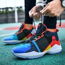 Professional Men Youth Big Kids Basketball Training Boots Anti Slip Sport Traine