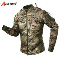 Tactical Military Jacket Men Winter Waterproof Camouflage Combat Jackets Army Warm Hunt Hiking Windbreaker Thicken Hooded Coat