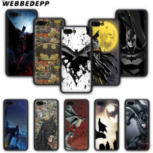 WEBBEDEPP Batman Fashion soft silicone phone case for Honor 6A 7X 8X 8C 9 10 Note10 for Honor 8 9 10 Lite(China)