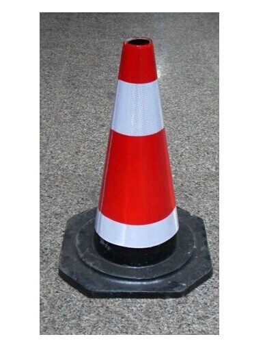 Rubber Traffic Cone 70 Cm Reflective Traffic Cone Roadblocks Cone Traffic Cones Traffic Facilities