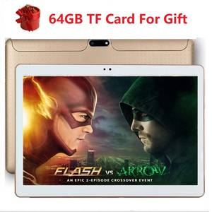 Tablet PC Phone-Pad Quad-Core Android 10inch 16GB 1GB 1280--800 1GB-RAM IPS Tf-Card GPS