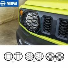 MOPAI Lamp Hoods for Jimny JB74 Car Front Headlight Light Lamp Decoration Cover for Suzuki Jimny 2019 2020 2021 Accessories