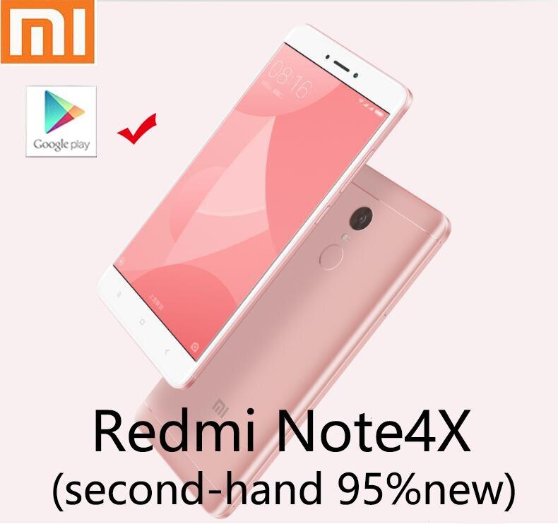 Xiaomi Redmi note4X cep telefonu ikinci el akıllı telefon 4G 64G nobox 95new yeni pil ile