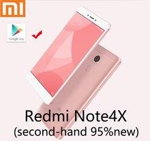 Xiaomi Redmi note4X handy zweite hand smartphone 4G 64G nobox 95new mit neue batterie