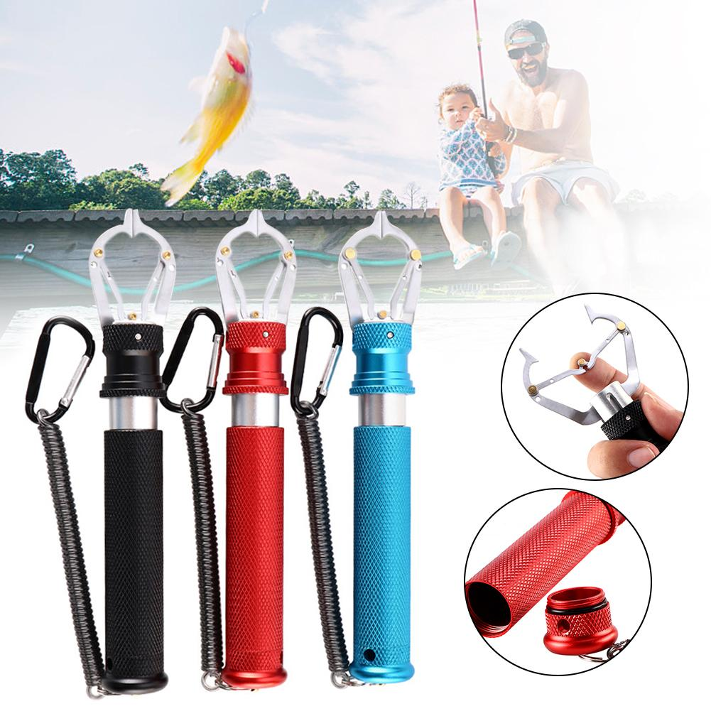 High-quality Fish Lip Gripper Stainless Kitchen Gadgets Grabber For Fishing Portable Sturdy Durable