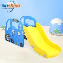 Детская горка с автомобилем, горка для малышей, домашняя горка для маленьких детей, домашний Райский детский сад для малышей и детей