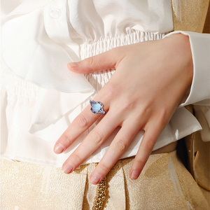 Image 5 - Szjinao Opal Rings 925 Sterling Silver Angel  Witcher Jewelry Accessories Stone Ring Cut Fire Luxury For Women Christmas Gifts