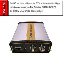 Cerco de medição da elevada precisão do verificador da antena diferencial rtk do receptor gnss para trimble bd982 bd970 bd990/bd992 etc