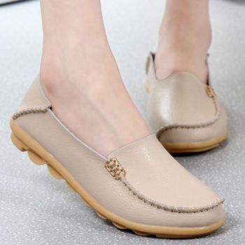 Ladies Slip-On Ballet Shoes