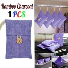 1 sztuk worek samochodowy bambusowy węgiel drzewny odświeżacz powietrza z węglem aktywnym zapach dezodorant nowy bambusowy węgiel drzewny bagl torby tanie tanio ISHOWTIENDA Bamboo charcoal bag Węgiel aktywny Torby Pokój