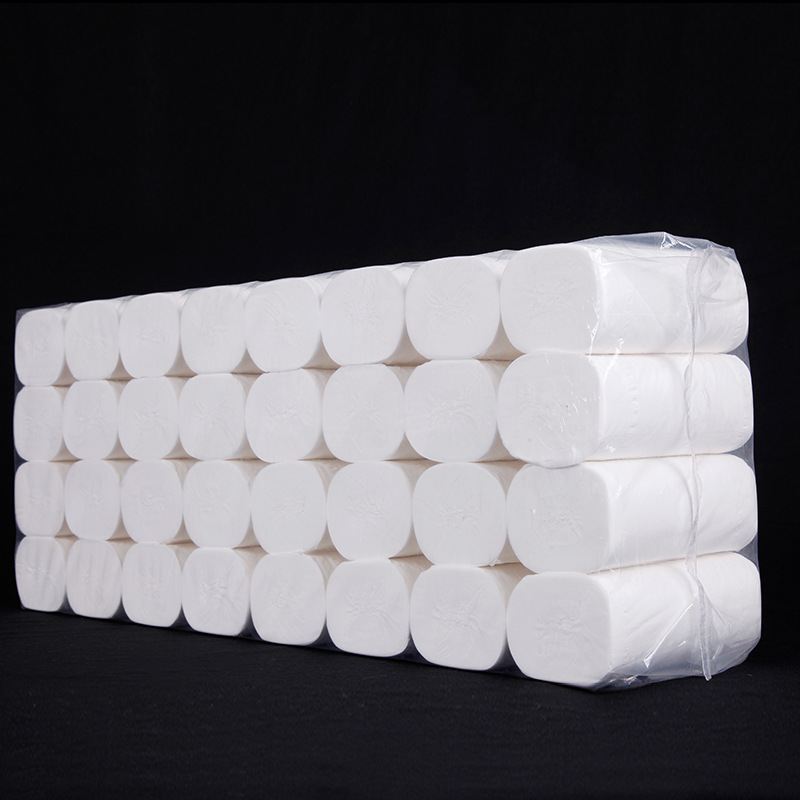 150mm 4 Layers Toilet Paper Wholesale Household Tissue Paper Towels Thickened Facial Tissues Paper