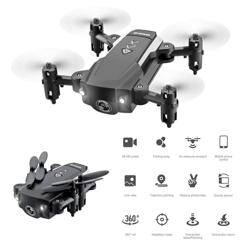 KK8 RC Mini Drone 4K Professional With HD Camera One Key Return FPV Wifi Drone Super Long Endurance Aircraft Fold Quadcopter Toy 6