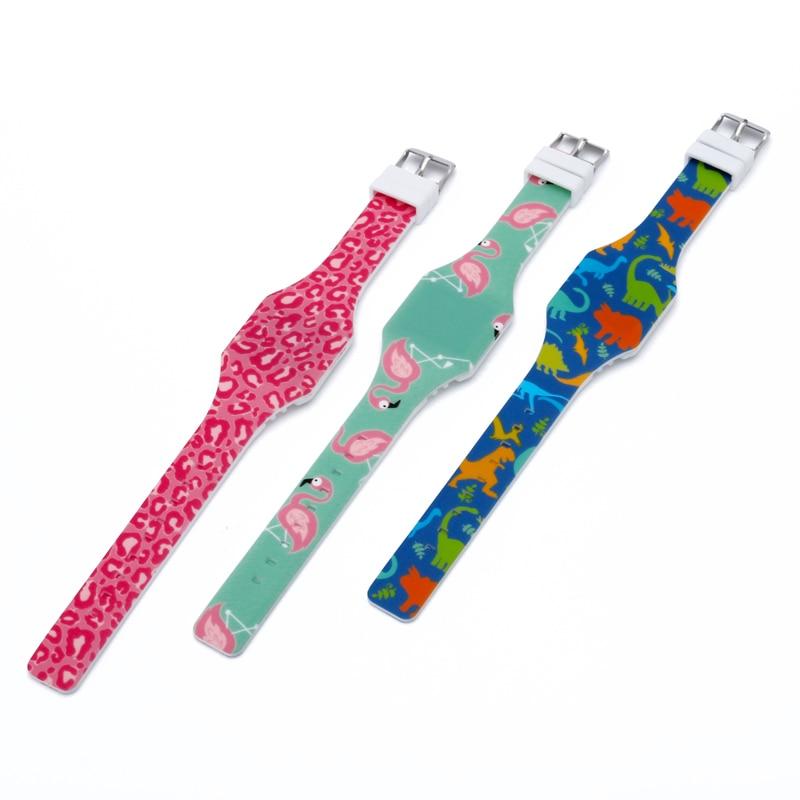 Image 3 - Cartoon Childrens Watches Cute LED Digital Watch Kids Student Electronic Watch Dinosaur Clock For Girls Boys Reloj InfantilChildrens Watches   -