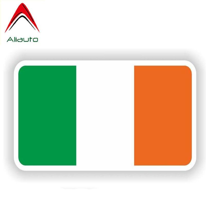 Ireland Oval Sticker Self Adhesive Vinyl Irish Country Code euro IE v2
