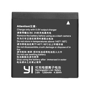 Image 3 - Original para Xiaomi Yi II yi 4k 4k + batería az16 1, batería + cargador LCD para Xiaoyi Yi Lite YI 360 VR, Cámara de Acción