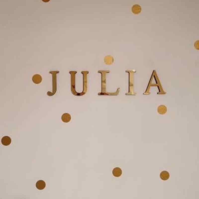 1PCS 26 Englisch Buchstaben DIY 3D Spiegel Acryl Wand Aufkleber Decals Oberfläche Moderne Wohnkultur Wand Kunst Wandbild Fumiture aufkleber B1