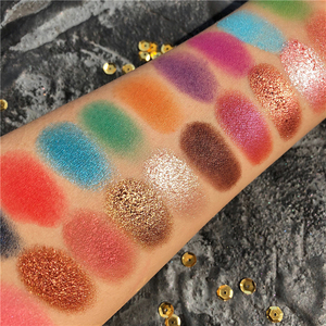 Image 5 - Shimmer Matte 42 Color Eye Shadow Makeup Palette Colorful Neon Eyeshadow Pallete Glitter Metallic Highly Pigmented Bright Shades