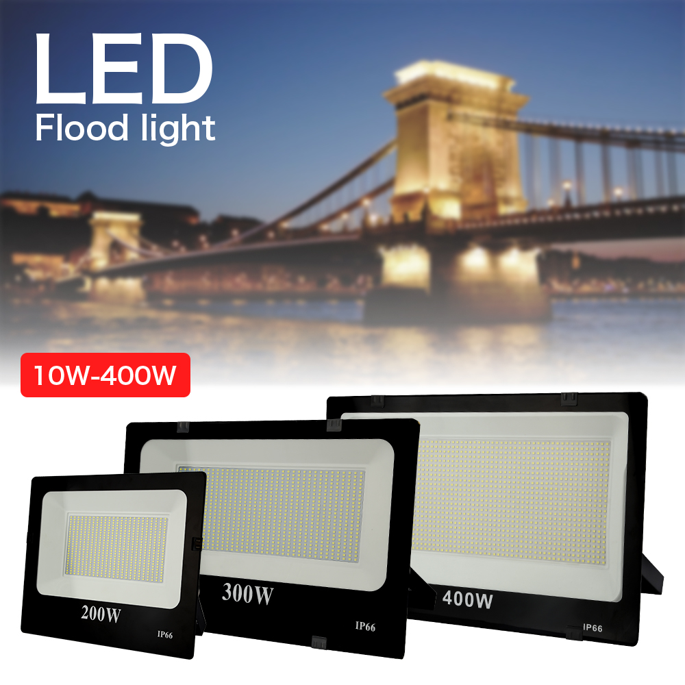 <font><b>LED</b></font> Floodlight <font><b>10W</b></font> 20W 30W 50W 100W Outdoor <font><b>led</b></font> Spotlight Waterproof IP66 <font><b>Reflector</b></font> Lamp AC220V Billboard Building Decoration image