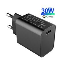WOTOBE USB tipo C cargador de pared de 30W con el poder de PowerPort velocidad PD3.0 para MacBook Pro de aire/aire iPad Pro 2018 iPhone Nexus