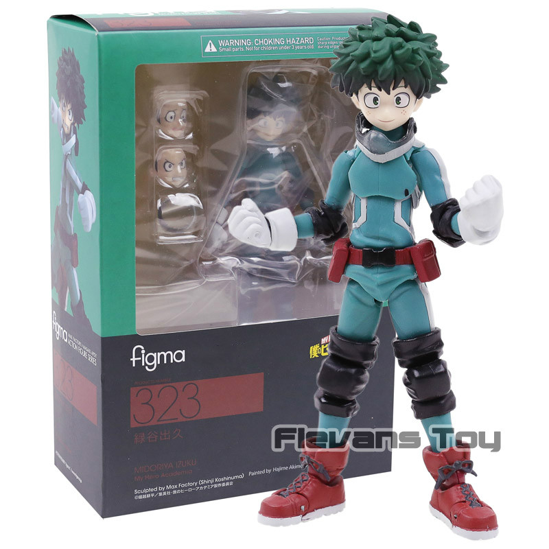 Figma 323 My Hero Academia Midoriya Izuku PVC Action Figure Collectible Model Toy|Action & Toy Figures| - AliExpress