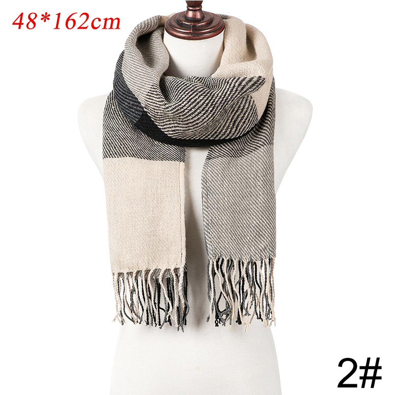 Fashion Scarf Women/'s Long With Tassel Wraps Shawl Stole Soft Scarves B
