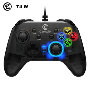Image 3 - GameSir T4 Pro / T4W Gamepad Controller 2.4 GHz  Joystick for PC Game with USB Receiver Wired Gamepad for Windows (7/8/9/10) PC