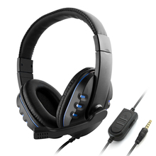 Headset Microphone Wired-Game Off-Gaming-Headphones Over Noise-Canceling with for PC