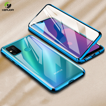Magnetic Case For Huawei Honor 9A Case Dual Side Tempered Glass Cover Bumper For Honor 9A 9 A Phone Case 360° Full Protection фото