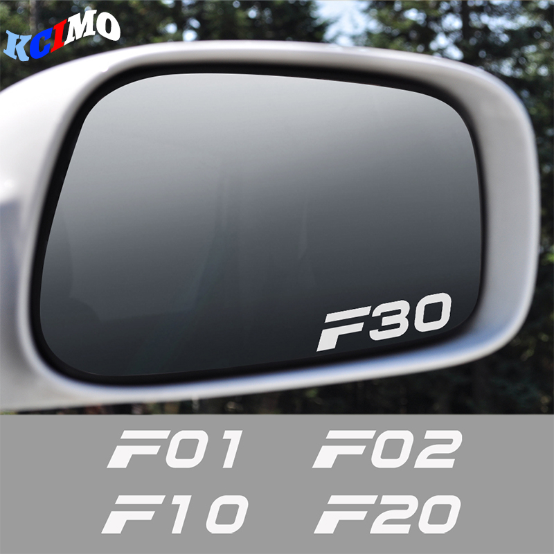 Car Rearview Mirror Decal Sticker For BMW F10 F20 F30 F31 F11 F34 F01 F12 F18 F32 F33 F35 F45 F46 F82 F85 F02 Car Accessories