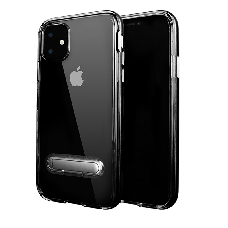 SGP <font><b>Spigen</b></font> Crystal Hybrid Clear Soft Tpu Cell Phone <font><b>Cases</b></font> with PC kickstand for <font><b>iPhone</b></font> 11Pro Max 2019 X XS XR 8 7 6 6S plus image