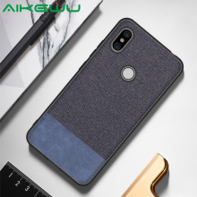 Case for Xiaomi Redmi S2 fashion fabric + Silicone cover XiaoMi Y2 shockproof