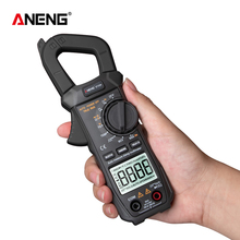 Auto Range Clamp Meter Voltmeter ST209 Electrician Digital Multimeter 400V 6000 Counts True RMS Amp Current Tester for Mesuring yh335 6000 counts auto range ac clamp meter