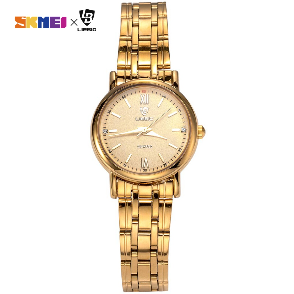 Simple Women Watch Ladies Quartz Wristwatches Top Brand Luxury Steel Strap Female Girl Waterproof Clock Relogio Feminino L1014