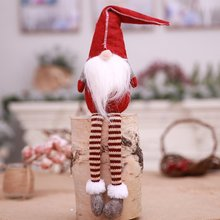 Мультяшное Рождественское украшение, кукла для пожилых людей, безликая кукла, рождественский подарок, плюшевая игрушка, креативный детский подарок