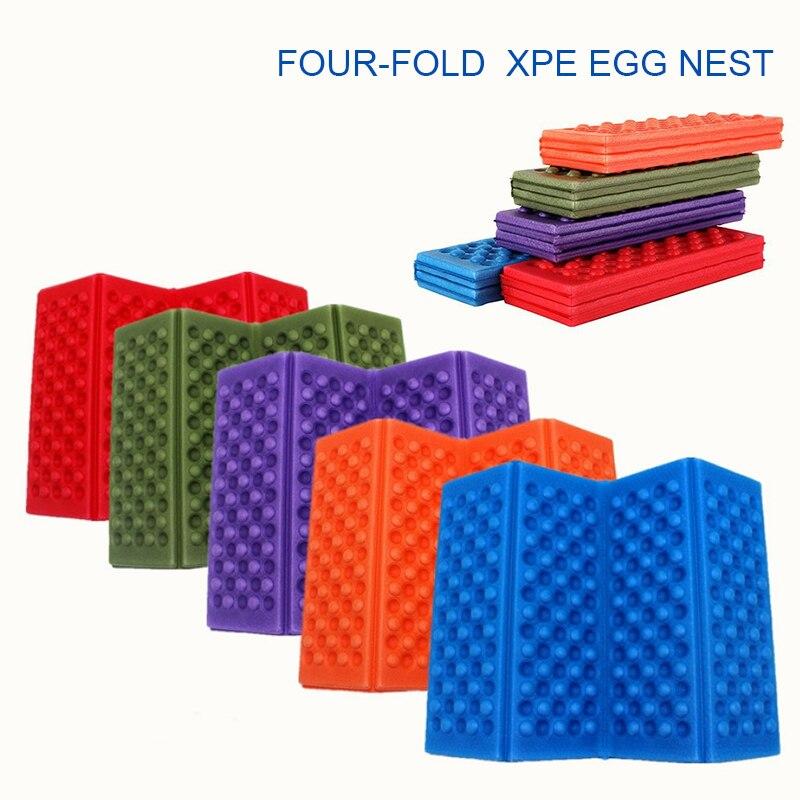 Складные подушки из вспененного полиэтилена XPE для активного отдыха, водонепроницаемые портативные влагонепроницаемые коврики для пикника