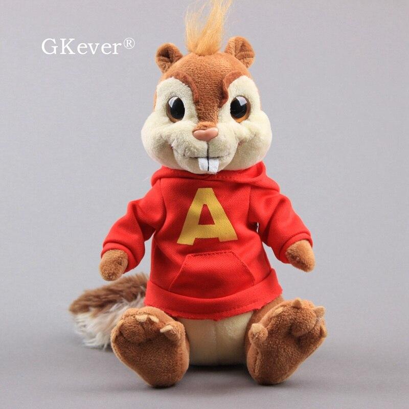 18 ve 25 CM Alvin ve sincaplar peluş oyuncaklar bebek yeni gelenler yumuşak doldurulmuş hayvanlar oyuncaklar bebek çocuklar noel doğum günü hediyesi