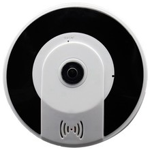 FFYY-G3605-1080Ph 3D Vr 360 Mini Panoramic Wireless Fisheye Camera Audio Smart Home Automation Module(Us Plug)(China)