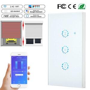 Image 1 - Ewelink Interruptor táctil WiFi para persiana de garaje, puerta de garaje Control inalámbrico para, inteligente, funciona con Alexa y Google Home, EU/US