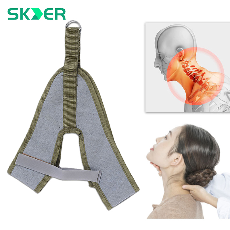 Neck Stretcher Air Cervical Traction Orthopedic Pillow Collar Inflatable Pain Relief Tractor Relax Massager Support Protection