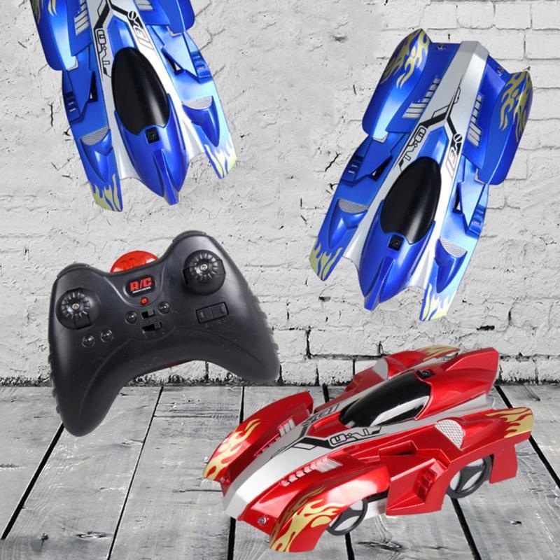Nova parede do carro rc carro de corrida brinquedos de controle remoto anti gravidade teto carro de corrida máquina de brinquedo elétrico carro rc para o brinquedo do miúdo presente